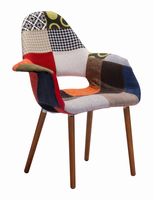 Zuo Modern Moshe Occasional Chair Multicolor, Set of 2