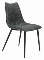 Zuo Modern Norwich Dining Chair Black, Set of 2