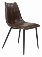 Zuo Modern Norwich Dining Chair Brown, Set of 2