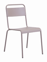 Zuo Modern Oh Dining Chair Taupe, Set of 2