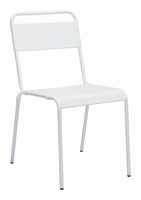 Zuo Modern Oh Dining Chair White, Set of 2