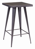 Zuo Modern Olympia Bar Table Gunmetal