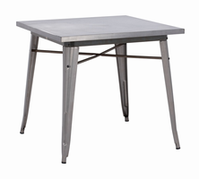 Zuo Modern Olympia Dining Table Gunmetal