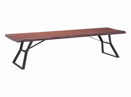 Zuo Modern Omaha Coffee Table Distressed Cherry Oak
