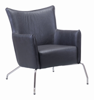 Zuo Modern Ostend Occasional Chair Black