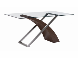 Zuo Modern Outremont Dining Table Walnut