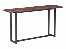 Zuo Modern Papillion Console Table Distressed Cherry Oak