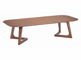 Zuo Modern Park West Coffee Table Walnut