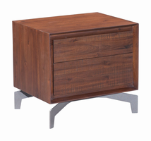 Zuo Modern Perth End Table Chestnut