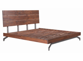 Zuo Modern Perth King Bed Chestnut