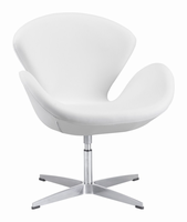 Zuo Modern Pori Arm Chair White