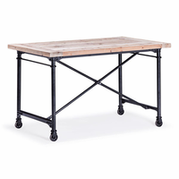 Zuo Modern Presidio Heights Desk Natural Oak