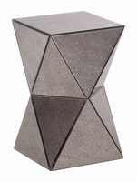 Zuo Modern Prism Mirror Side Table