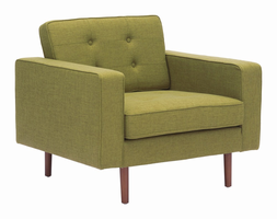 Zuo Modern Puget Arm Chair Green