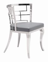 Zuo Modern Quince Dining Chair Gray, Set of 2
