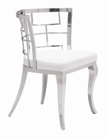 Zuo Modern Quince Dining Chair White, Set of 2