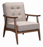 Zuo Modern Rocky Arm Chair Putty