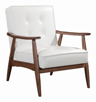 Zuo Modern Rocky Arm Chair White