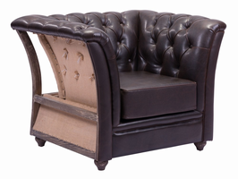 Zuo Modern Rodeo Drive Arm Chair Brown