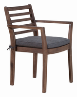 Zuo Modern Sancerre Dining Chair Natural & Gray, Set of 2