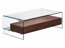 Zuo Modern Shaman Coffee Table Walnut