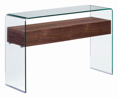 Zuo Modern Shaman Console Table Walnut