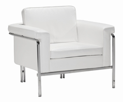 Zuo Modern Singular Arm Chair White