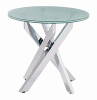 Zuo Modern Stance Side Table Crackled