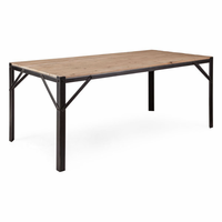 Zuo Modern Sunset Dining Table Natural Oak