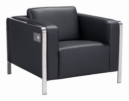 Zuo Modern Thor Arm Chair Black