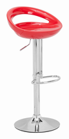 Zuo Modern Tickle Barstool Red