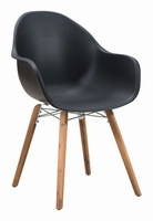Zuo Modern Tidal Dining Chair Black, Set of 4