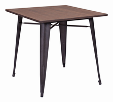 Zuo Modern Titus Dining Table Rustic Wood