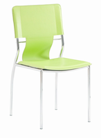 Zuo Modern Trafico Dining Chair Green, Set of 4