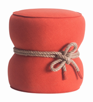 Zuo Modern Tubby Ottoman Orange