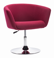 Zuo Modern Umea Arm Chair Carnelian Red