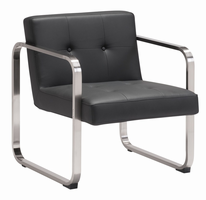 Zuo Modern Varietal Arm Chair Black