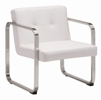 Zuo Modern Varietal Arm Chair White