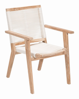 Zuo Modern West Port Dining Chair White Wash&white