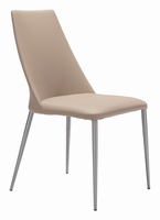 Zuo Modern Whisp Dining Chair Beige, Set of 2