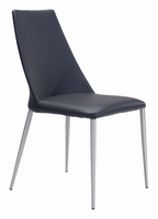 Zuo Modern Whisp Dining Chair Black, Set of 2