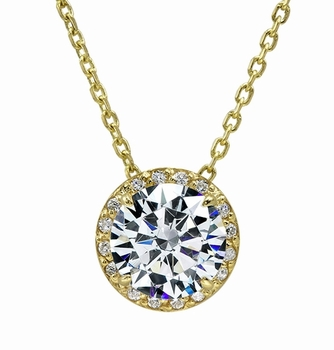 Clearance Cubic Zirconia Necklaces and Pendants On Sale