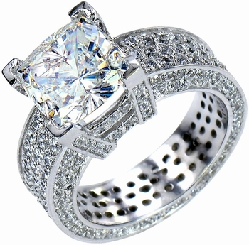 fancy cubic zirconia solitaires and cubic zirconia engagement rings - Cubic Zirconia Wedding Rings