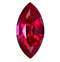 Marquise Ruby Lab Created Synthetic Loose Stones