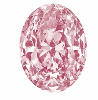 Oval Pink Diamond Look Cubic Zirconia Loose Stones