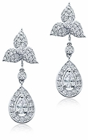 Pippa Middleton Inspired Royal Wedding Cubic Zirconia Earrings