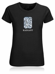 Radiant Emerald Cut Diamond Shape T-Shirt