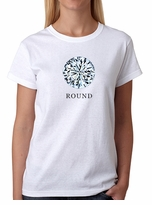 Round Diamond Shape T-Shirt