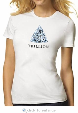 Trillion Diamond Shape T-Shirt