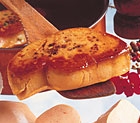 Duck Foie Gras Raw Frozen Sliced Uncooked by Rougie (France) - 2.2 LB Pkg